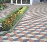 Укладка тротуарной плиткой